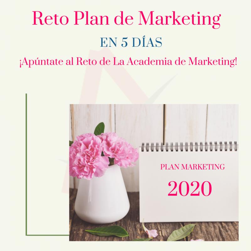 Reto Plan de Marketing Digital en 5 días